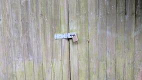 门锁定了 库存图片