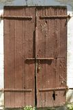 门锁定了 免版税库存照片