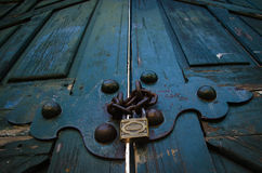 门锁定了 免版税图库摄影