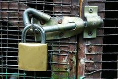门锁 免版税图库摄影