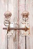 门键锁 库存照片