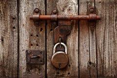 门闩挂锁 免版税库存图片