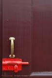 门闩锁定 免版税库存照片