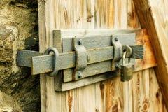 门闩 库存图片