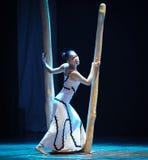 门限差事到迷宫现代舞蹈舞蹈动作设计者玛莎・葛兰姆里 免版税库存照片