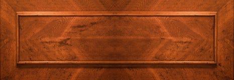 门零件木头 免版税库存照片
