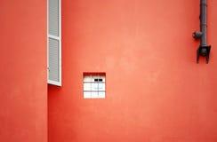 门面小的视窗 免版税库存图片