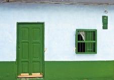 门面房子农村传统 图库摄影