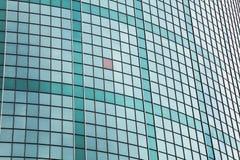 门面玻璃绿色 免版税库存图片