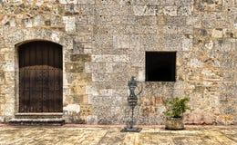 门面石墙 库存图片