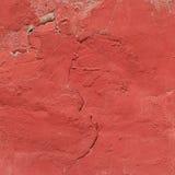 门面红色纹理墙壁 免版税库存照片