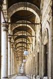 门廊穆罕默德阿里清真寺在开罗 免版税图库摄影