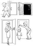 门 库存图片