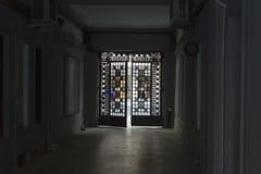 门 免版税库存图片