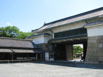 门higashi jo京都nijo otemon 库存照片