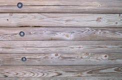 闩上木头 免版税库存照片