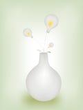 闪亮指示花瓶 免版税库存照片