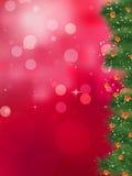 闪光的光和星形圣诞节。 EPS 8 向量例证