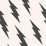 闪光,雷电无缝的样式 向量例证