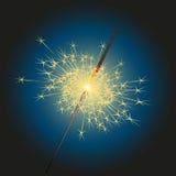 闪烁发光物向量 免版税库存照片