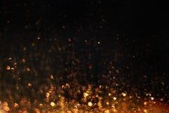 闪烁在黑暗闪耀 免版税库存图片