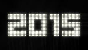 年2015年-闪烁的光 库存照片