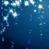 闪烁的星形 库存图片