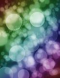 闪烁的泡影背景 免版税库存照片