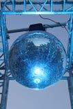 闪烁的dico球 免版税库存图片