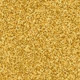闪烁衣服饰物之小金属片金黄抽象背景 库存例证