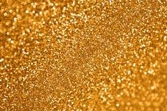 闪烁金子 免版税库存照片
