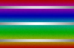 闪烁/与发光的走路的抽象例证排行  免版税库存图片