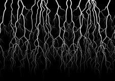 闪电传染媒介对象 图库摄影