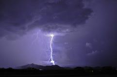 闪电图森 免版税库存图片