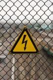 闪电符号 库存图片