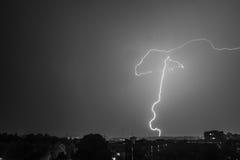 闪电 图库摄影