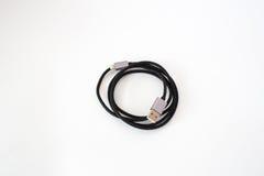 闪电USB缆绳 免版税库存图片