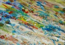 闪耀的坚硬蜡泥泞的银色绿色结构背景,闪耀的泥泞的蜡状的油漆,对比在淡色颜色的形状背景 库存图片