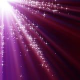 闪耀的天空 库存照片