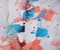 闪耀的桃红色斑点构造,给冬天背景打蜡 免版税库存照片