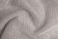 闪耀的金属纺织品 库存照片