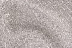 闪耀的金属纺织品 免版税库存照片