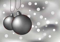 闪耀背景的圣诞节 图库摄影