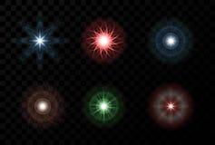 闪闪发光星星系爆炸 抽象闪闪发光纹理 向量例证