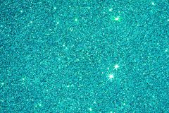 闪闪发光蓝绿色颜色闪烁纹理背景 图库摄影