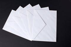 闭合的信包 免版税库存图片
