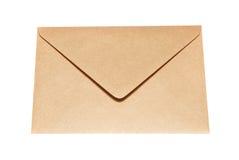 闭合的信封纸 免版税库存图片