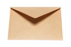 闭合的信封纸 图库摄影