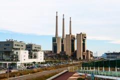 闭合的力量上升暖流驻地。巴塞罗那 免版税库存图片