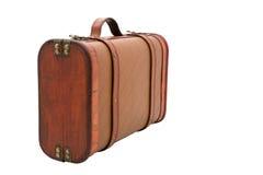 闭合的手提箱葡萄酒 免版税库存图片